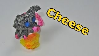 Rainbow Loom Charms (Easy): CHEESE (to go with the Mouse Charm): How to Design (DIY Mommy)