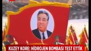 Kuzey Kore, Hidrojen Bombası Patlattı