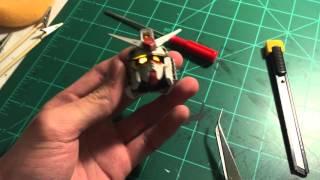 Perfect Grade RX 78 2 WIP/Review: Part 1   Head Unit