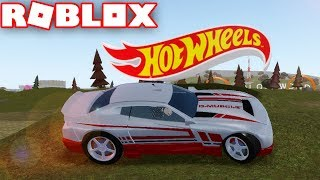HOT WHEELS UPDATE in ROBLOX VEHICLE SIMULATOR | DRAG RACES | CAR STUNTS