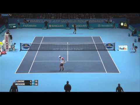 London Finale 2014 Saturday Hot Shot Nishikori