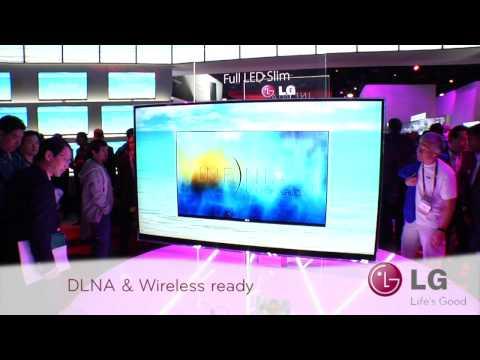 LG CES 2010: LED TV LE9500