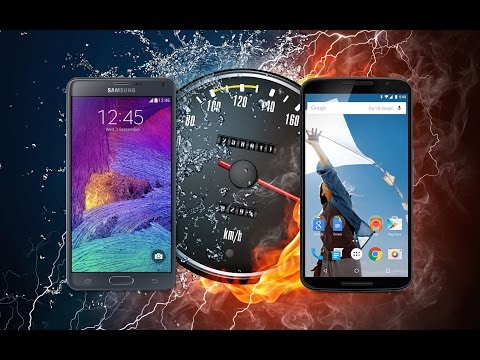 Nexus 6 VS Samsung Galaxy Note 4 (rendimiento)