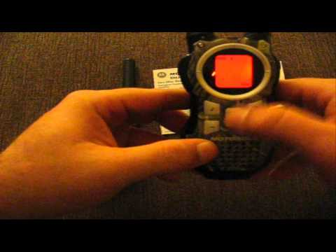 Emergency Communications: Motorola Talkabout MR355R FRS/GMRS radios