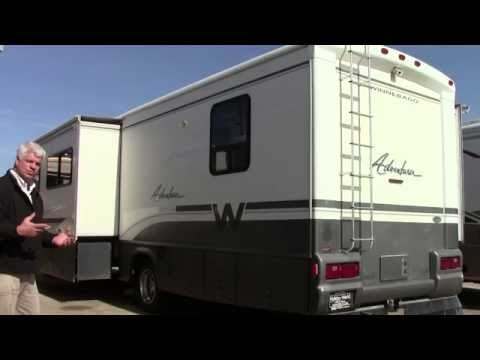Preowned 2000 Winnebago Adventurer 35U Class A Gas Motorhome RV Holiday World of Houston in Katy, TX