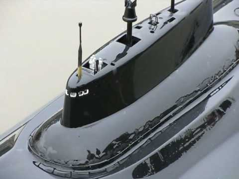 Typhoon and Alpha Class RC Subs