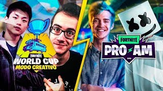 🔴 TORNEO  PRO AM World Cup Fortnite desde New York !cofre !miembro !codigo - StarK