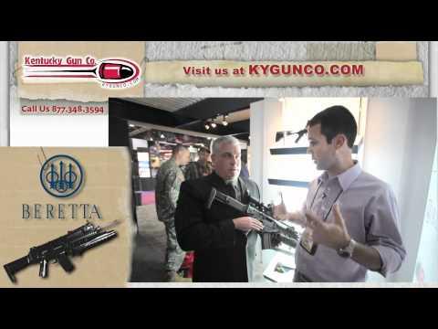 SHOT Show 2012 - Beretta ARX-160 Rifle Review