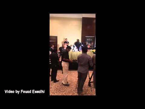 Badr Hari vs Patrice quarteron Dubai 2014 Kickboxing press conference TOP & Best