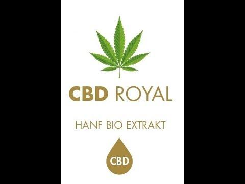 Wird CBD ihre Gesundheit verbessern? CBD ROYAL Hanf Bio Extrakt