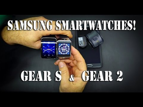 Samsung Smart Watches! - Gear S vs Gear 2 ! | TechTalk