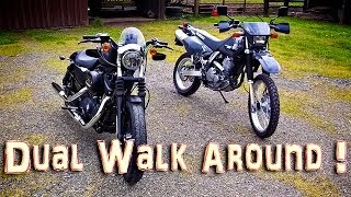 Dual Walk Around! - DR650SE & Iron 883!  | ShopTalk