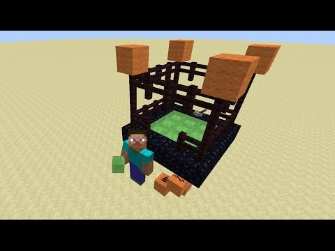 Видео майнкрафт как сделать батут без модов 152