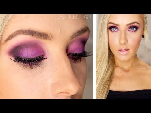 Purple Smokey Eye Tutorial  + GIVEAWAY!!!