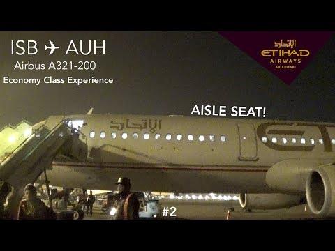 [TripReport] Etihad Airways EY234 | Islamabad - Abu Dhabi | Airbus A321