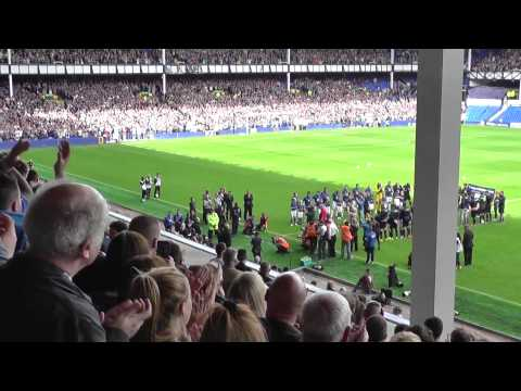 Leon Osman guard of honour