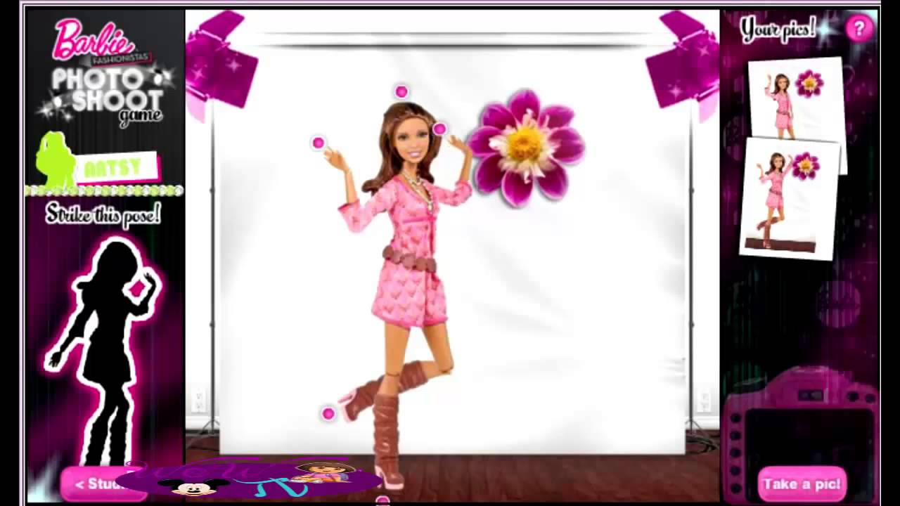 Barbie Fashionista Games Online Barbie Girl Games Online