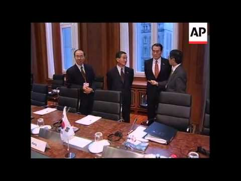 GERMANY: G-20 FINANCE MINISTERS MEETING