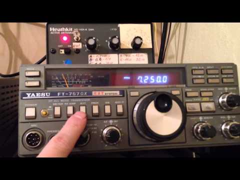 BANGLADESH BETAR 7250 kHz shortwave radio transmission