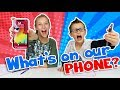 WHATS ON MY PHONE Challenge!