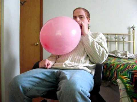Pink balloon b2p