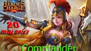 Heroes Charge - Commander