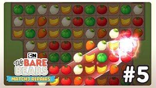 We Bare Bears | Match 3 Repairs | Game Walkthrough #5 | Cartoon Network