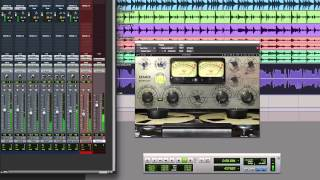 Pro Tools Tutorial: Use Waves Kramer Master Tape On A Parallel Mix Buss