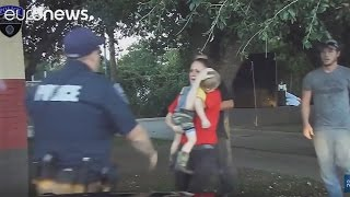 Police who saved a child's life