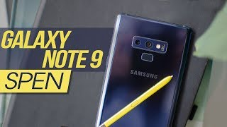 Bí kíp hay làm chủ spen trên samsung galaxy Note 9