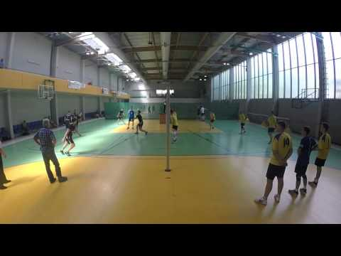 Puchar Ligi 2015: GeoVolley Team - KS Grębocin (2:0) - Cały Mecz
