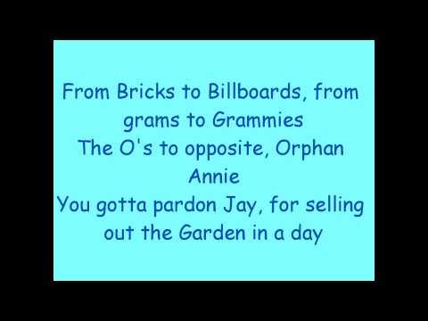 Jay Z Dirt off your shoulder lyrics