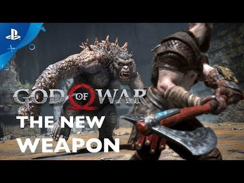 God of War's New Weapon: The Leviathan Axe | PS4 thumbnail