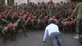 Ethiopia:- Amazing video by Dr Abiy Ahmed with the defense members