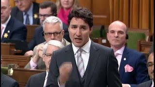 Energy: Prime Minister Justin Trudeau in Question Period