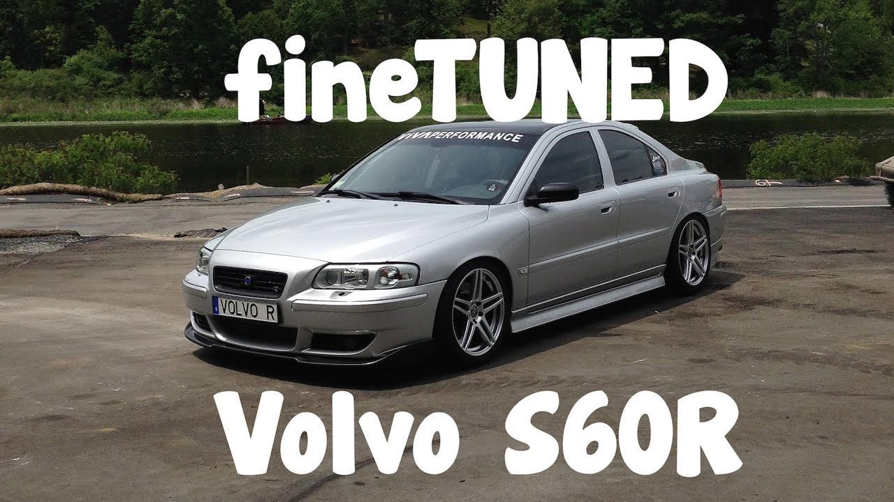 fineTUNED: Crazy 450+HP Volvo S60R! - YouTube
