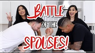 WHO KNOWS US BEST? || BATTLE OF THE SPOUSES! FT. BEAUTYYBIRD