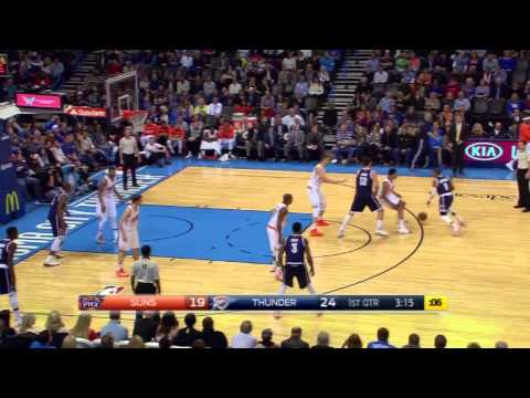 Steven Adams pick leads to Russell Westbrook bucket