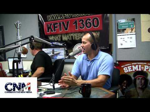 Palin Protesters Exposed! (Pt 1) John D. Villarreal on KFIV 1360AM.