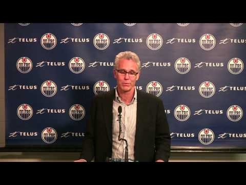 Edmonton Oilers GM Craig MacTavish looking to the future