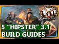 PoE 3 1 Builds 5 Hipster Non Meta Build Guides Abyss League War For The Atlas 2018 mp3