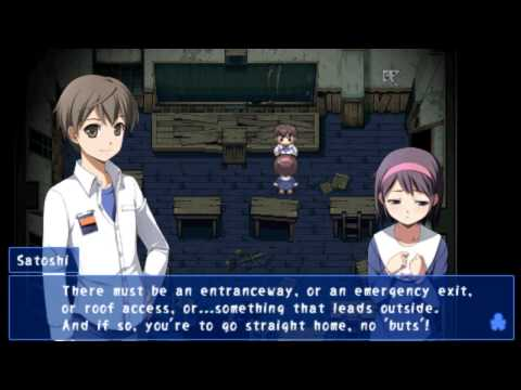 u2 plays Corpse Party - [Chapter 3] #10 Darkness