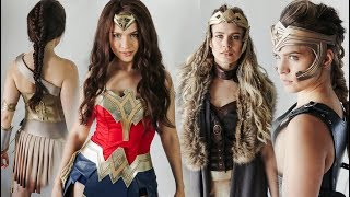 Wonder Woman Hairstyles: Hair Tutorial - KayleyMelissa