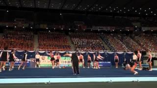 帝京大学 チアリーディング部 Japan Cup 2013 [後編]