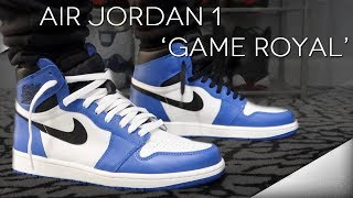 MY THOUGHTS ON THE AIR JORDAN 1 'GAME ROYAL'