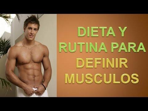 dieta marcar musculos:
