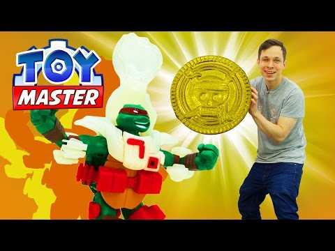 ✌ Toy Master помогает Рафаэлю! Игры #ЧерепашкиНиндзя. Видео про игрушки.