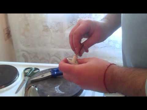 Как сделать ручку у газовой плиты