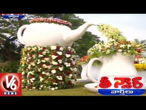 GVMC Flowers Exhibition Attracts People In Visakhapatnam | Teenmaar News