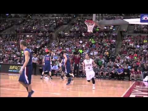 St Thomas boys basketball State Championship highlights